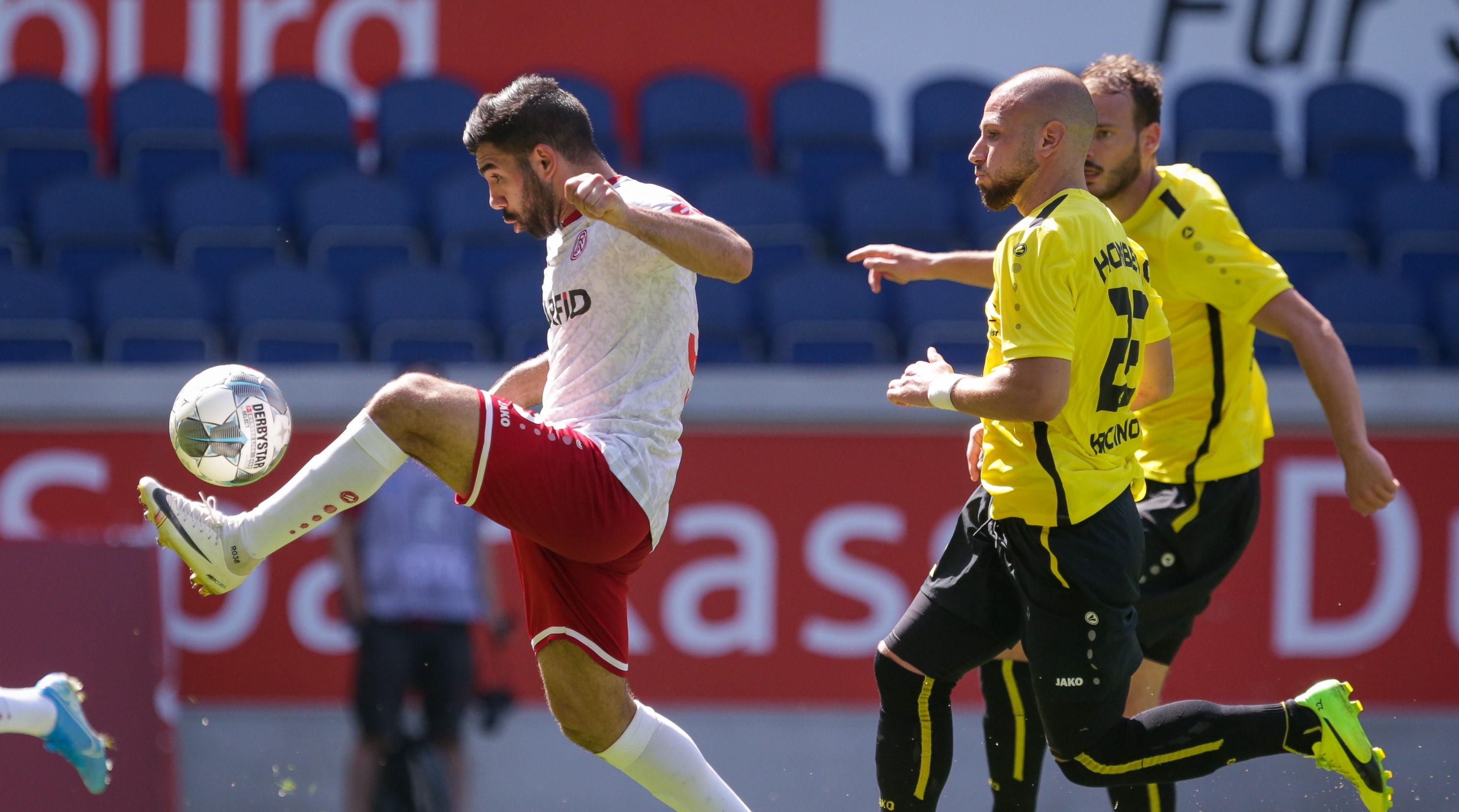 Saisonziel Klassenerhalt: Der VfB Homberg will sich mit dem ehemaligen U23-Trainer Sunay Acar in der Regionalliga festbeißen. (Foto: Endberg)