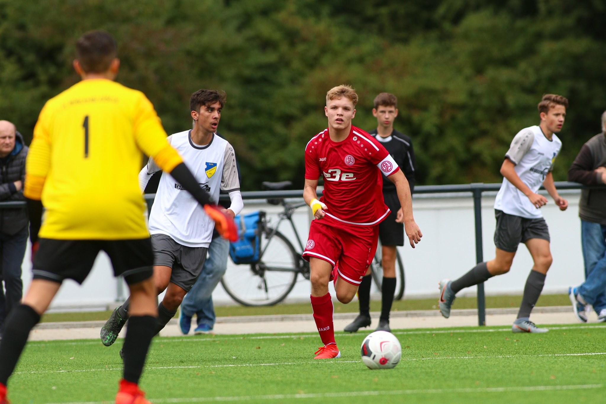 Topspiel für die U17. Am Sonntag ist der Gegner die U16 von Borussia Mönchengladbach. (Foto:Breilmannswiese)
