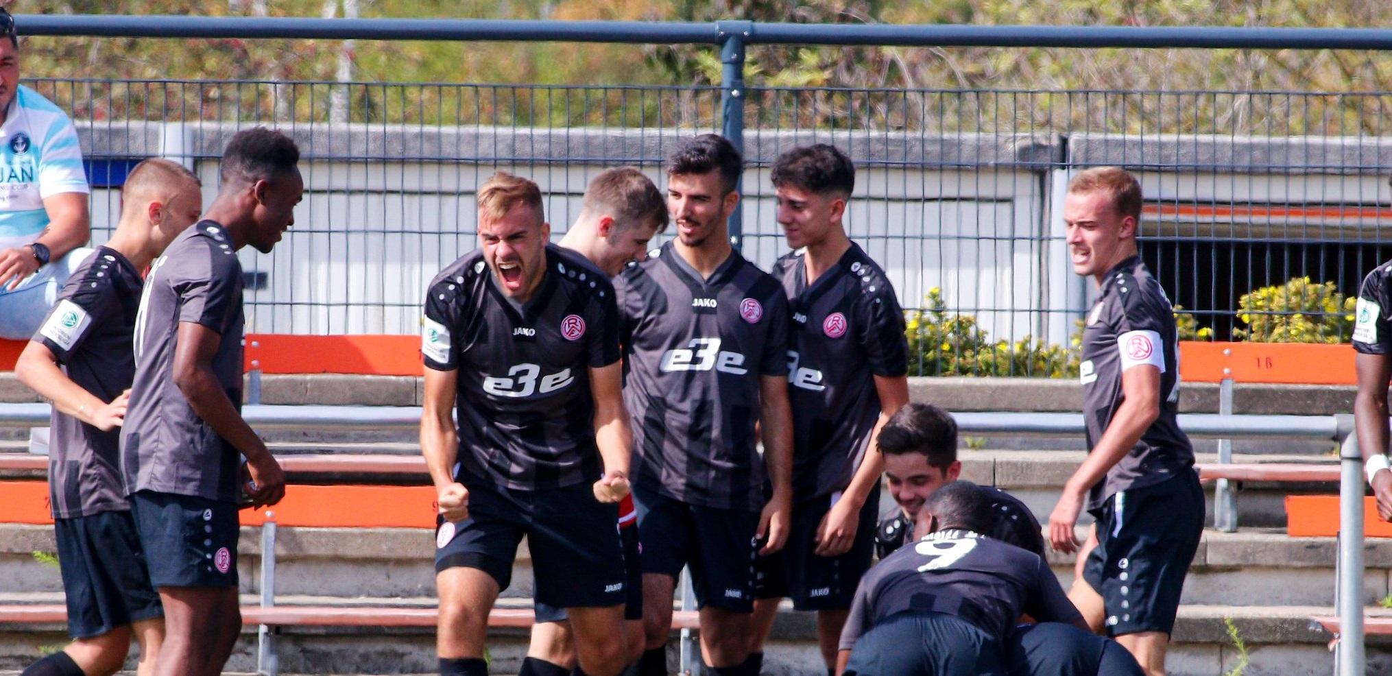 Die rot-weisse U19 ist Herbstmeister. (Foto:Breilmannswiese)