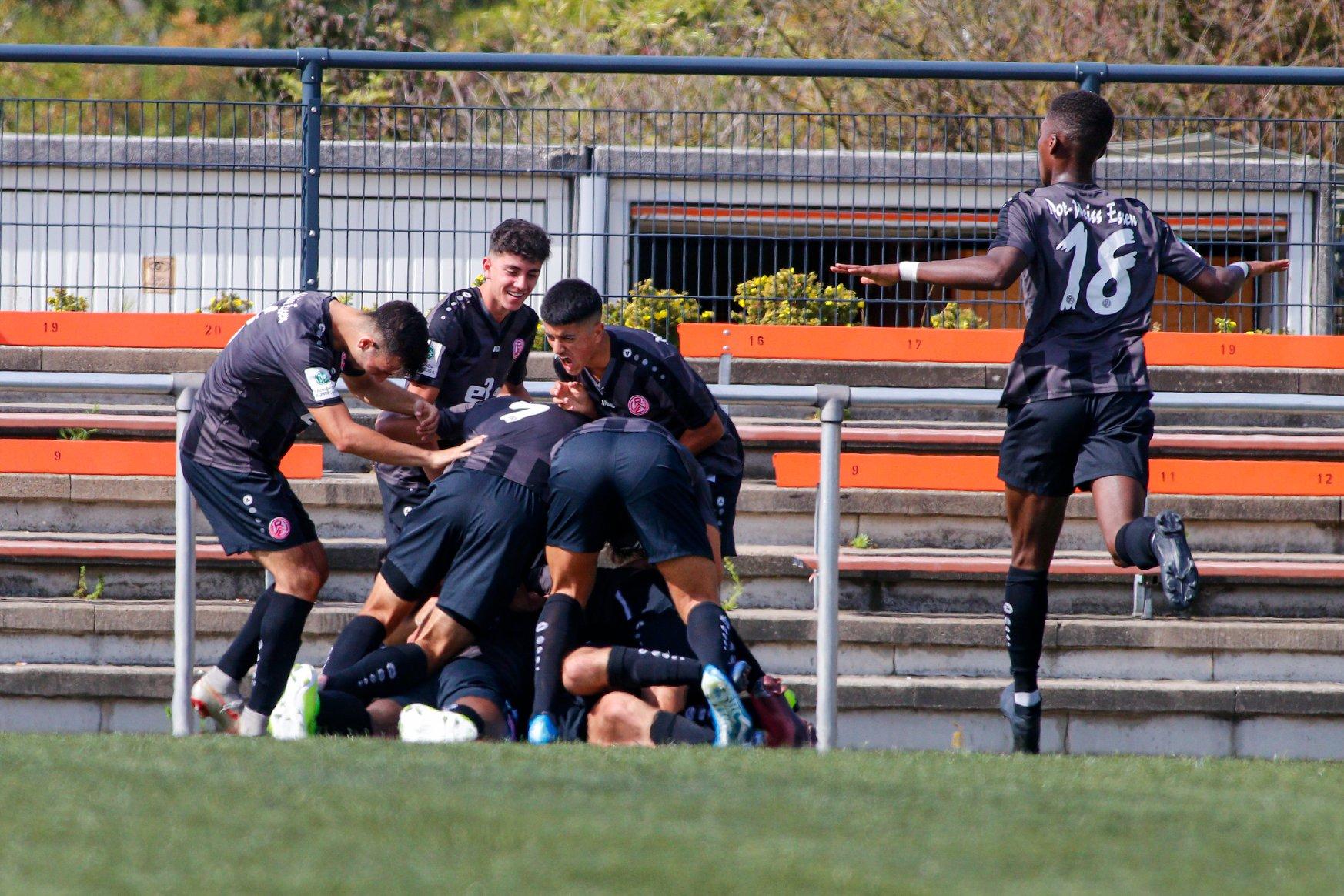Die U19 bleibt an der Tabellenspitze. (Foto:Breilmannswiese)