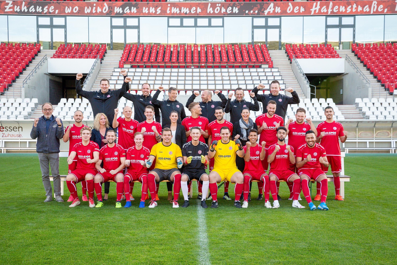 Die rot-weisse 2. Mannschaft steigt in die Kreisliga B auf.