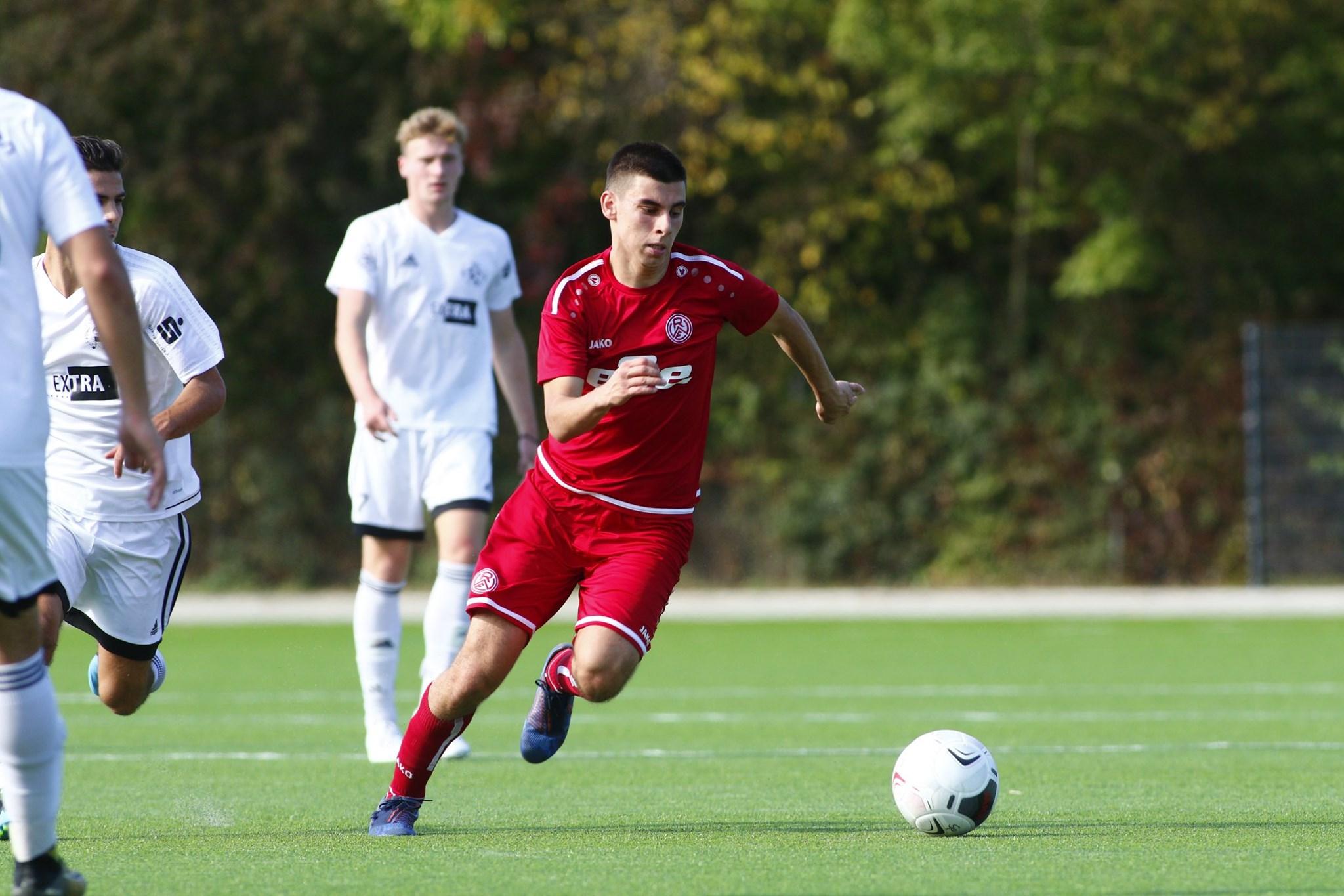 Am Hallo empfängt die U19 den SC Velbert. (Foto: Breilmannswiese)