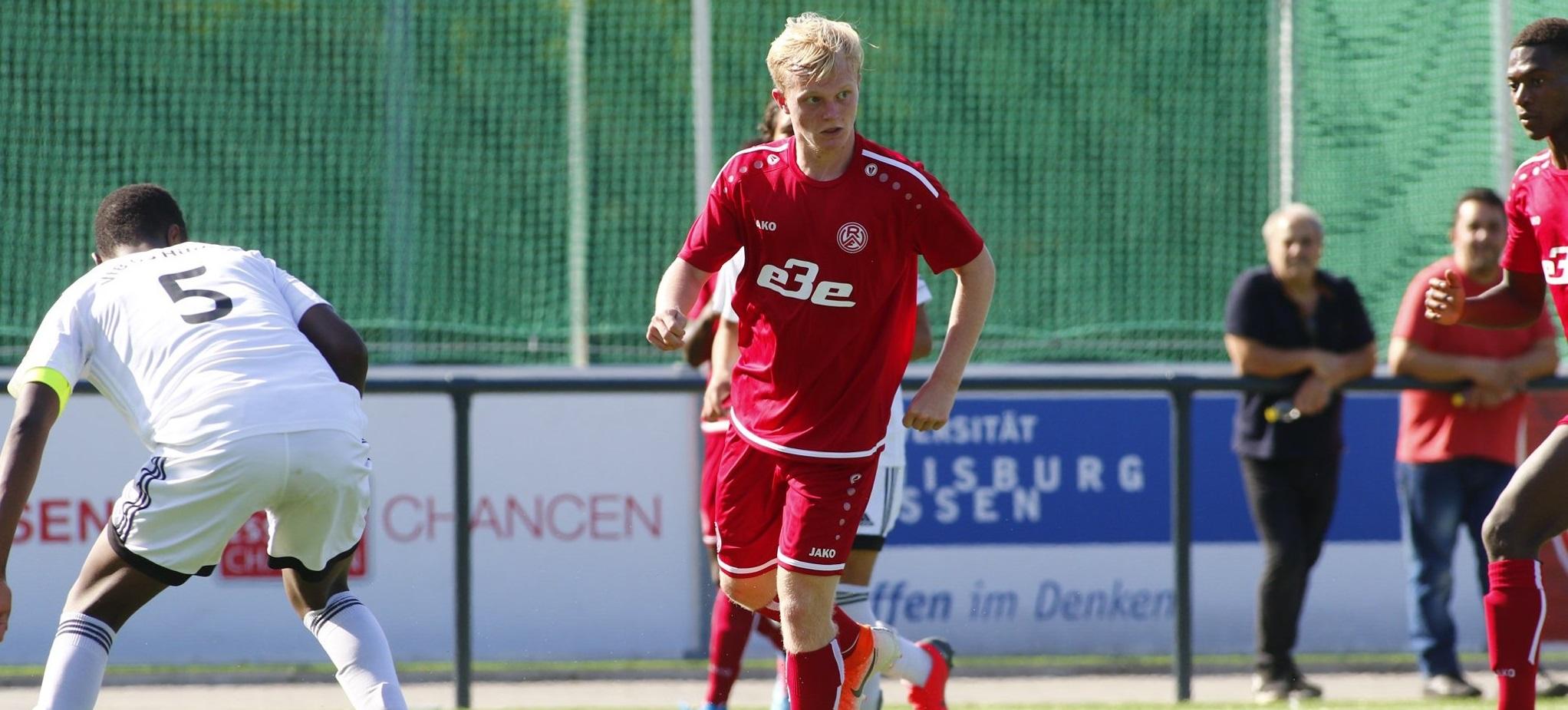 Die rot-weisse U19 tritt am Sonntag beim VFB Hilden an. (Foto:Breilmannswiese)