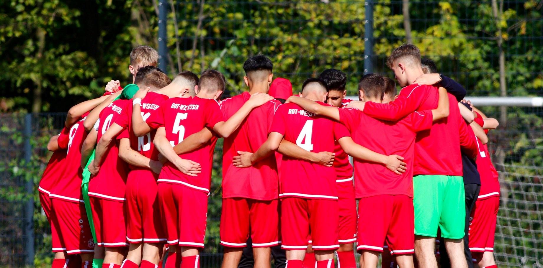 Am Wochenende geht es für die rot-weisse U17 wieder um wichtige Punkte. (Foto: Breilmannswiese)