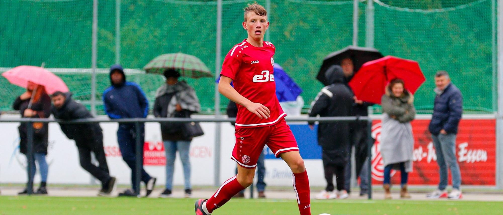 Am Wochenende steht für die rot-weisse U17 das Achtelfinale im Niederrheinpokal auf dem Plan. (Foto:Breilmannswiese)