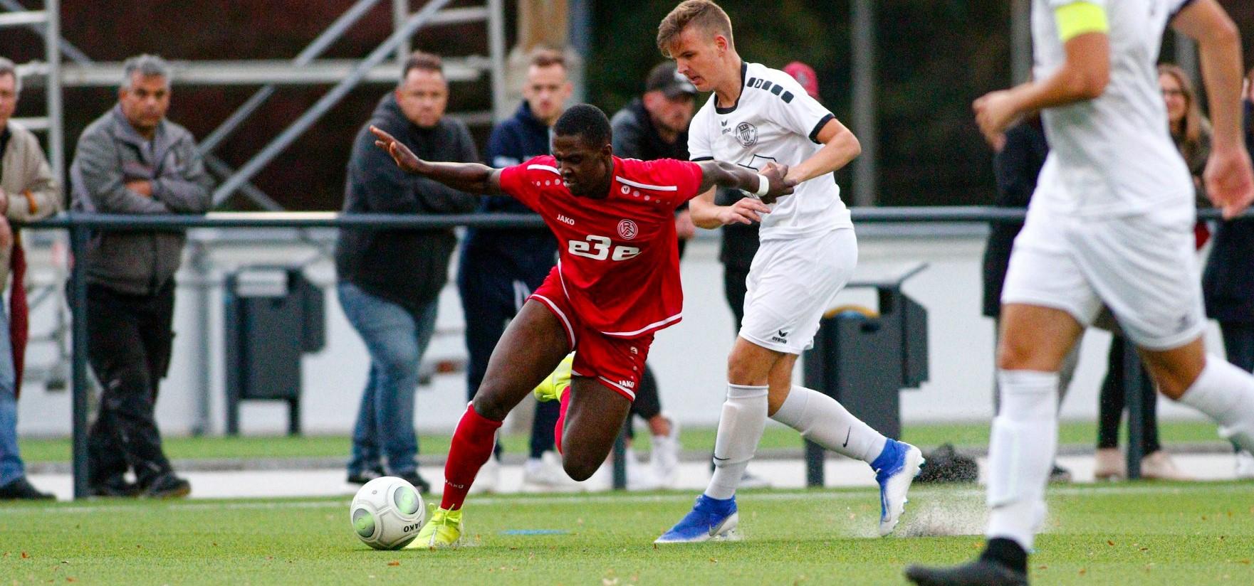 Einen klaren Sieg fuhr die U19 am vergangenen Wochenende gegen Arminia Klosterhardt ein. (Foto: Breilmanns Wiese)