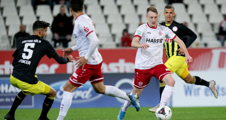 Die Partie gegen Fortuna Köln ging mit 0:1 verloren. (Foto: Endberg)