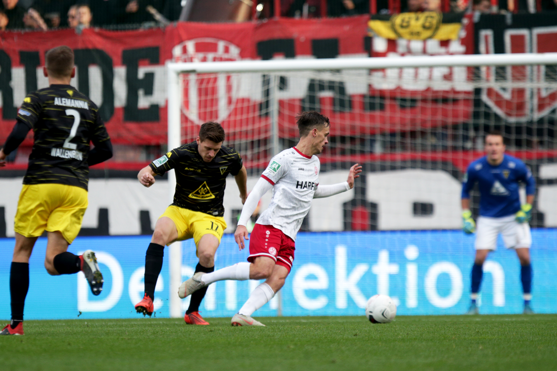 Marcel Platzek war gegen die Alemannia gleich doppelt erfolgreich. (Foto: Endberg)