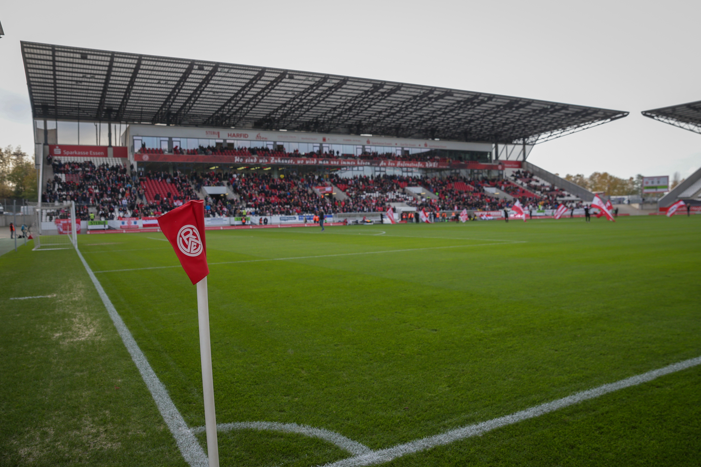 Morgen Abend findet das Niederrheinpokal Viertelfinale an der Hafenstraße statt. (Foto:Endberg)
