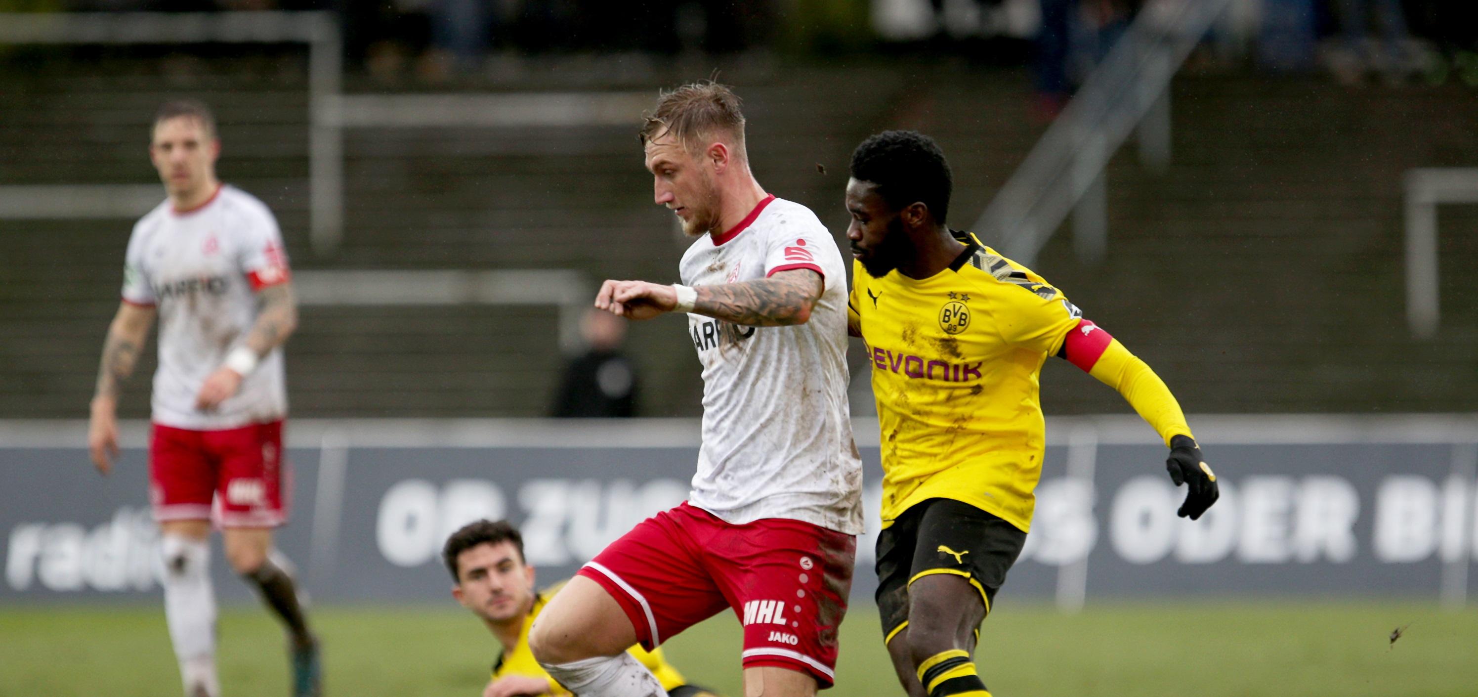 Am Sonntag gab es einen 1:0 Sieg bei Borussia Dortmund II. (Foto:Endberg)