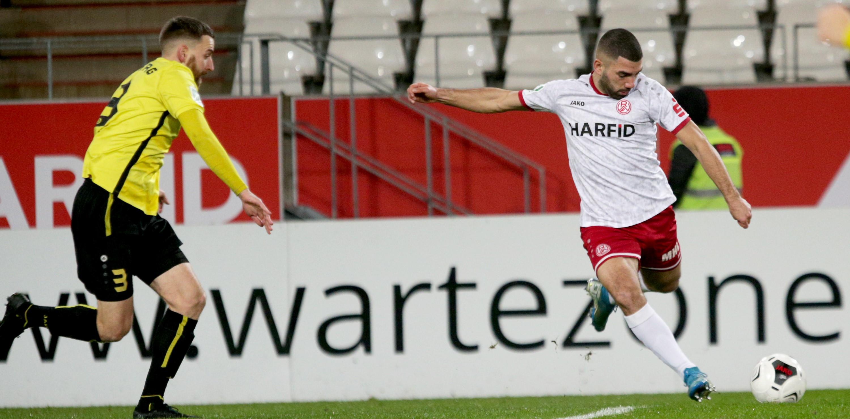 Gegen den VfB Homberg wollte den Rot-Weissen einfach kein Tor gelingen. (Foto: Endberg)