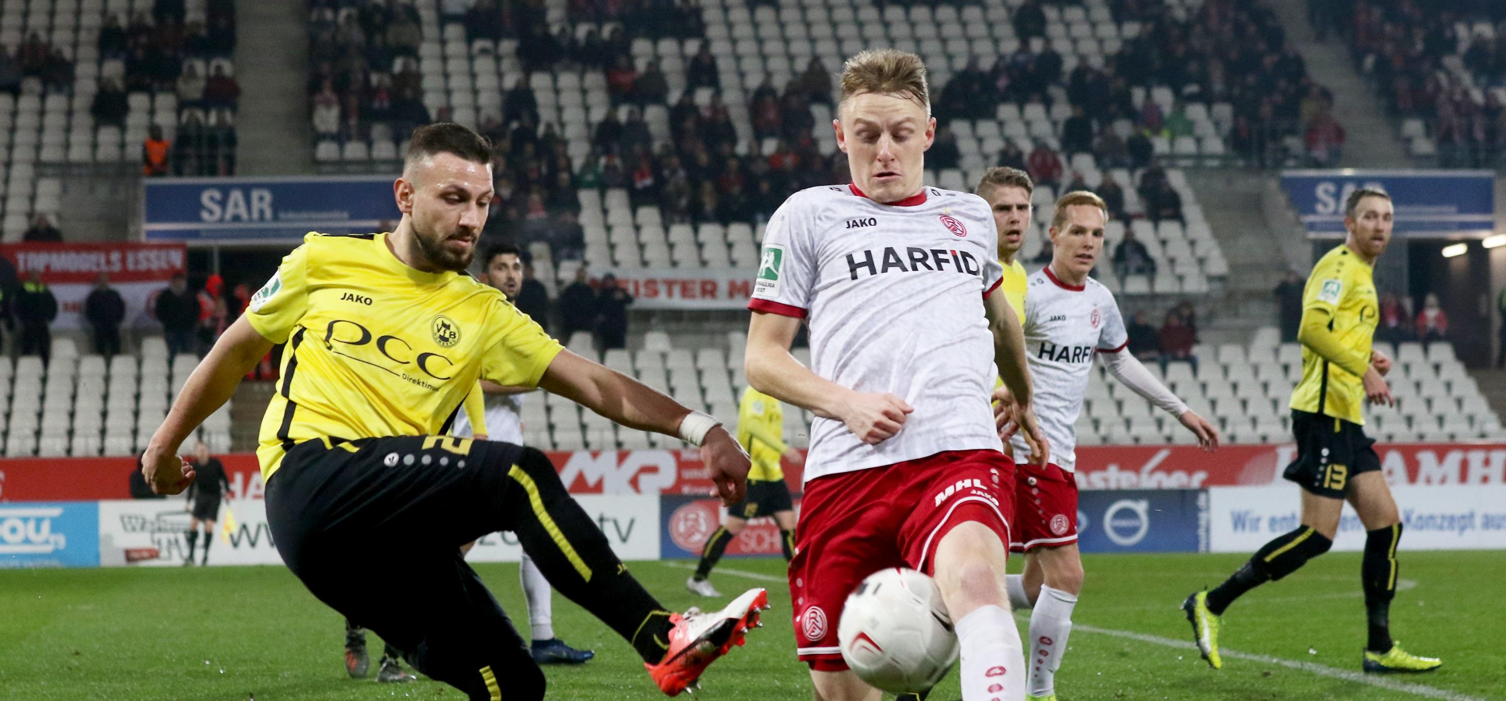 Die Stimmen nach der 2:0 Niederlage gegen den VfB Homberg. (Foto:Endberg)