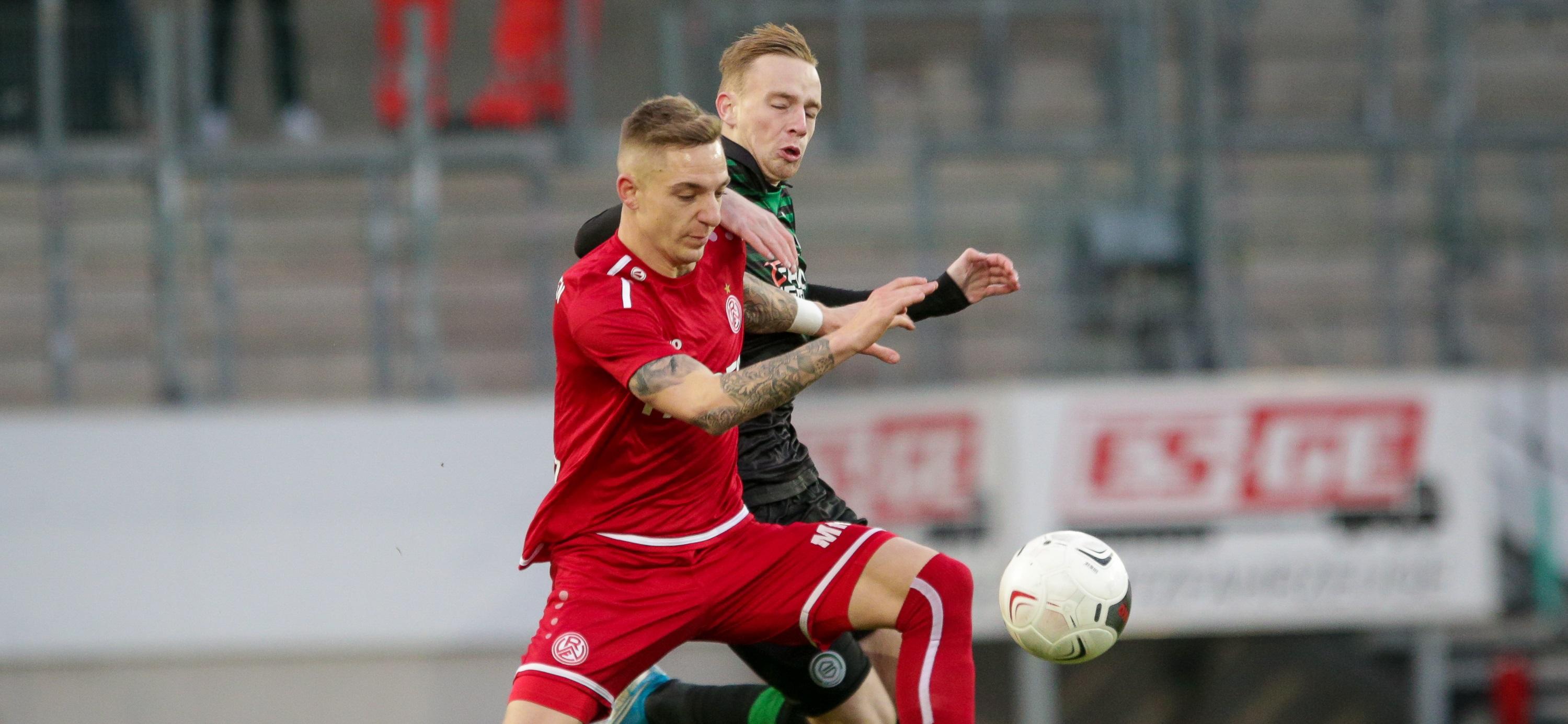 RWE testet gegen die U23 von Werder Bremen. (Foto:Endberg)