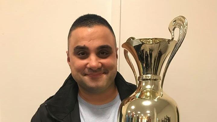 Oguz Öztas ist Schiedsrichter des Jahres im Kreis Essen. (Foto:Schiedsrichter Kreis Essen)