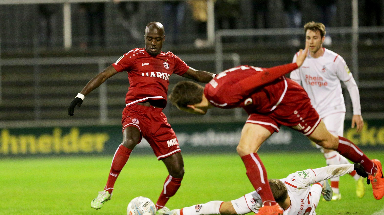 Amara Condé erzielte den einzigen Treffer der Partie. (Foto: Endberg)