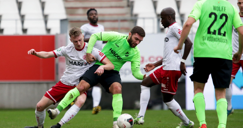 RWE blieb im Spitzenspiel gegen den SV Rödinghausen ohne Punkte. (Foto: Endberg)