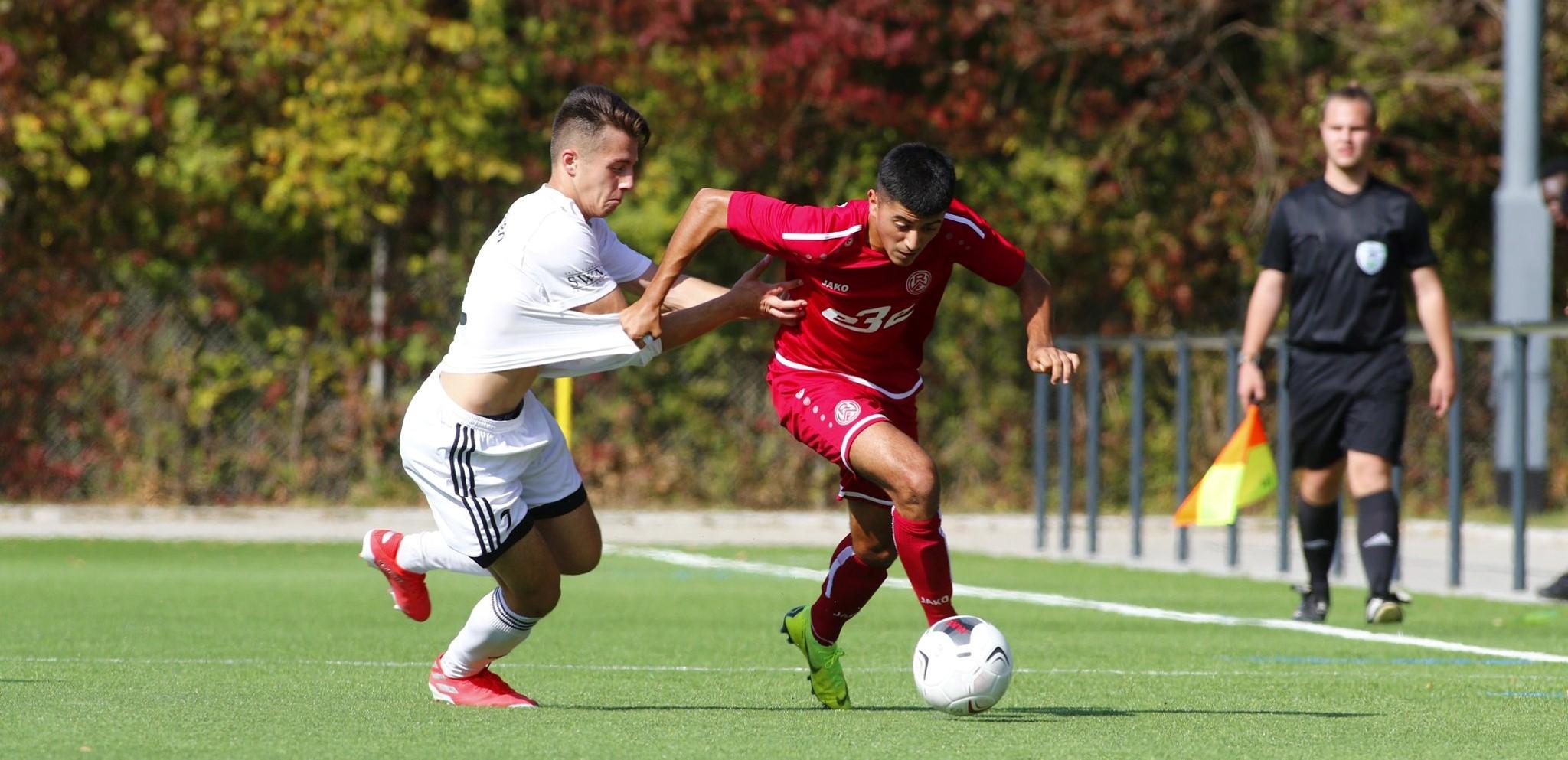Unnötig ließ die rot-weisse U19 zwei Punkte liegen. (Foto: Breilmanns Wiese)