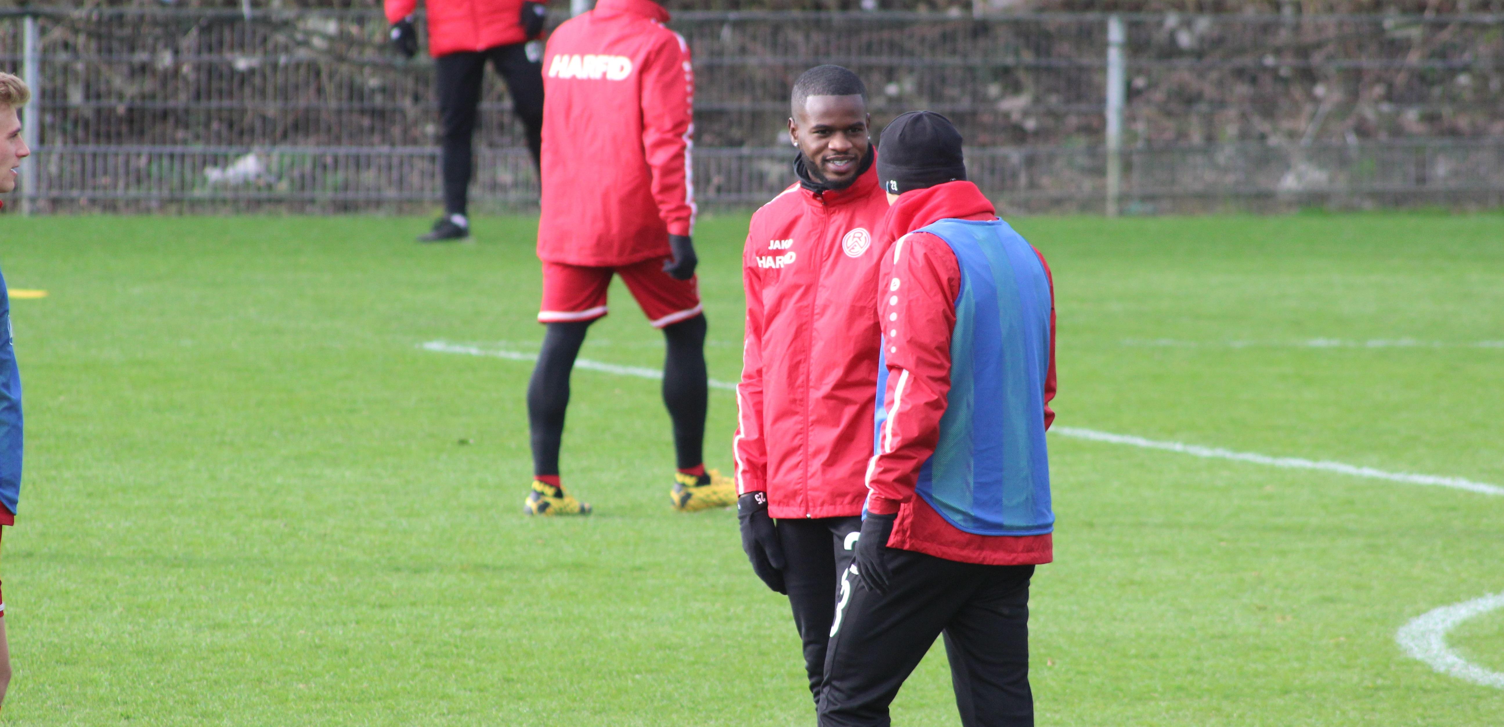 Neuzugang José-Junior Matuwila spricht über seine ersten Tage bei Rot-Weiss.