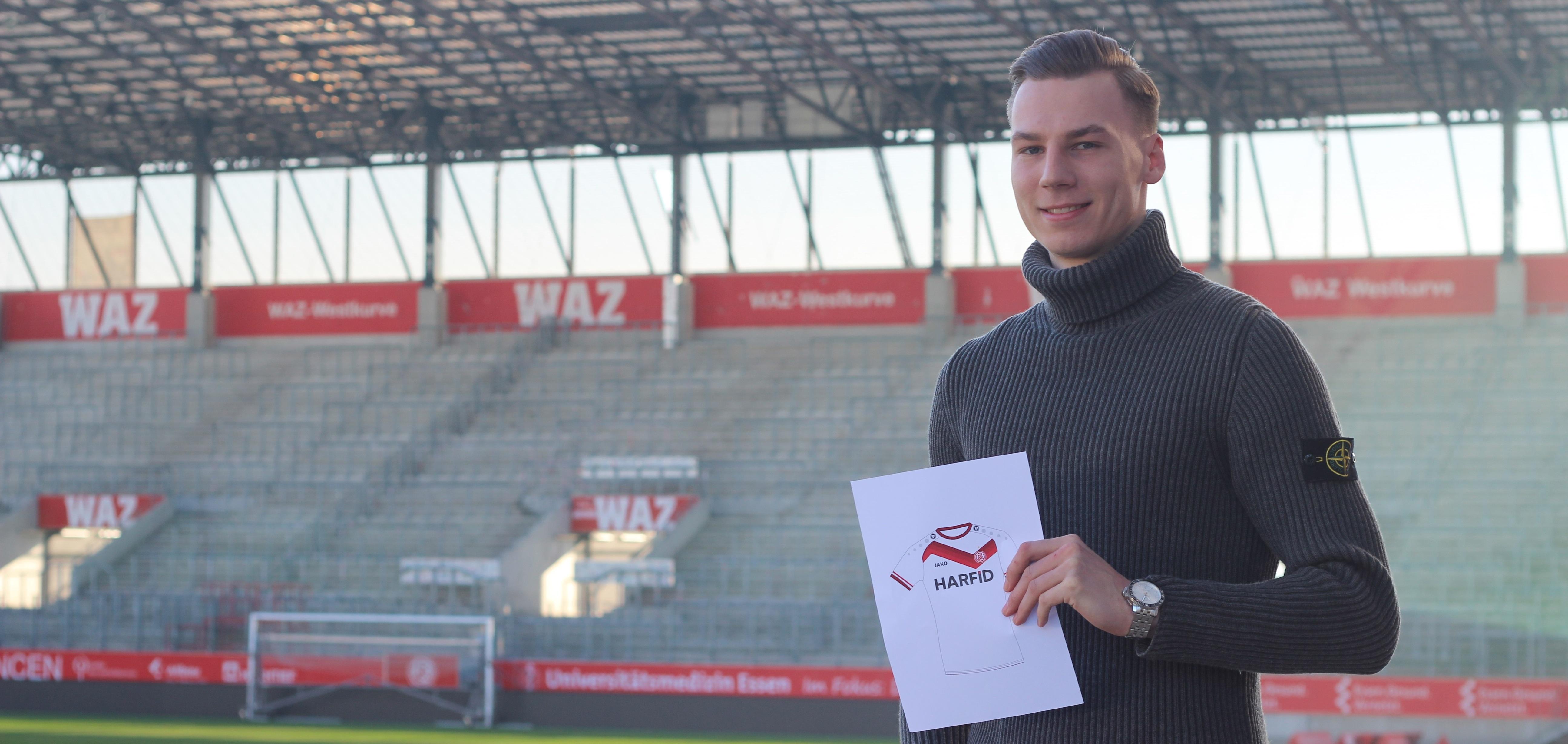 Das Gewinnertrikot wurde von RWE-Fan Tristan Grigoleit designt.