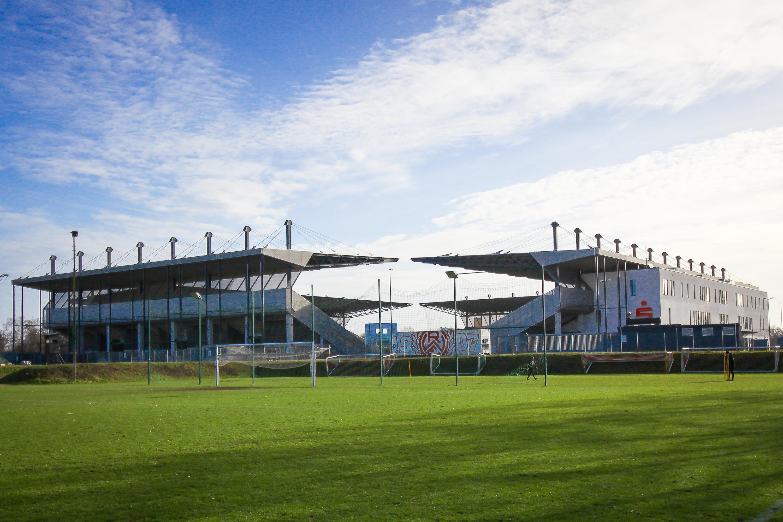Das Stadion Essen dient in jedem Fall als Austragungsort für das Niederrheinpokalfinale. (Foto: Endberg)