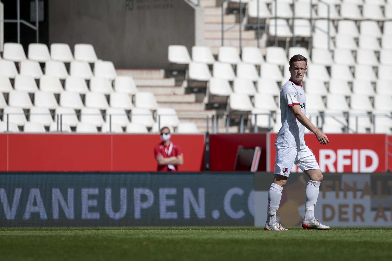 Jonas Behounek: Seit dieser Saison für Rot-Weiss Essen auf dem Feld.