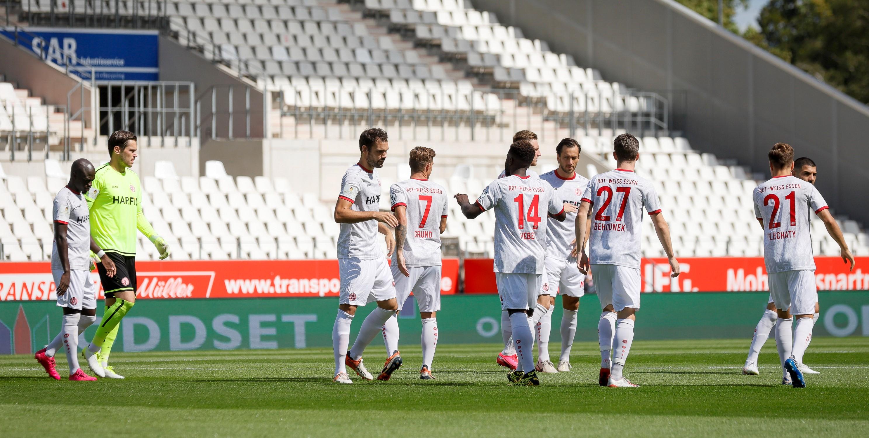 Noch eineinhalb Wochen bis zum Saisonstart: RWE testet gegen FC Emmen. (Foto: Endberg)