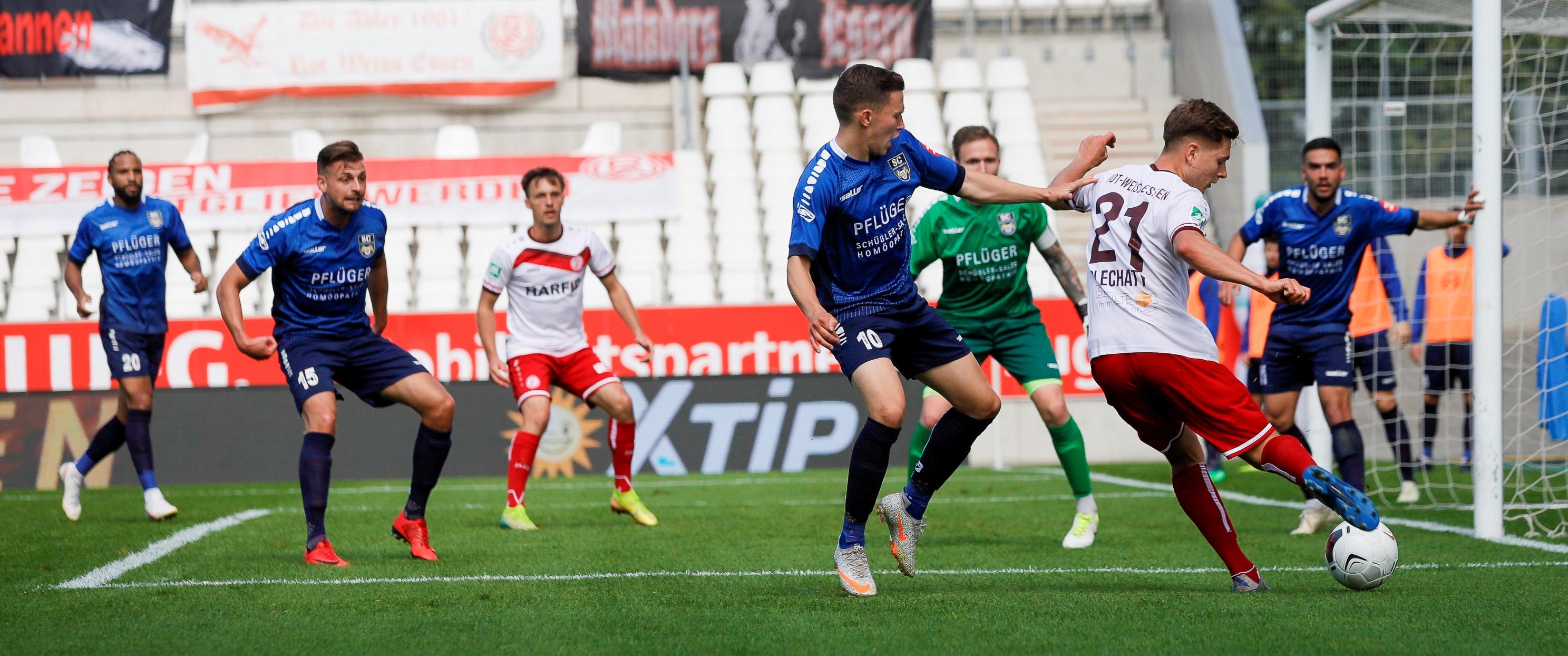 Der Ball rollt weiter: die Regionalliga West-Saison 2020/2021 wird fortgeführt. (Foto: Endberg)