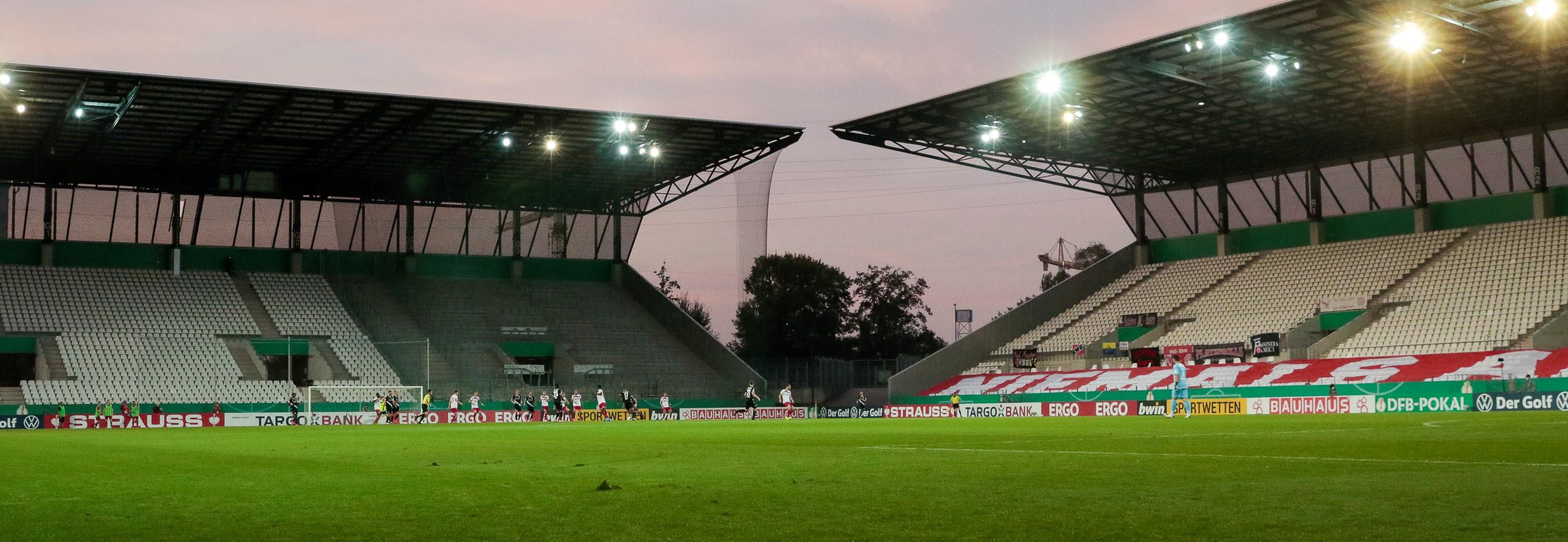 Rot-Weiss Essen spielt am Samstag vor 300 Zuschauern. (Foto: Endberg)