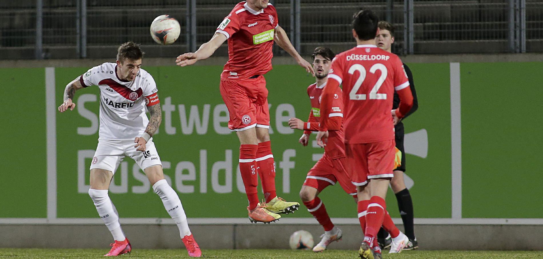 """Marco Kehl-Gomez: """"Wir sind verantwortlich für diese Niederlage, niemand anderes."""" (Foto: Endberg)"""