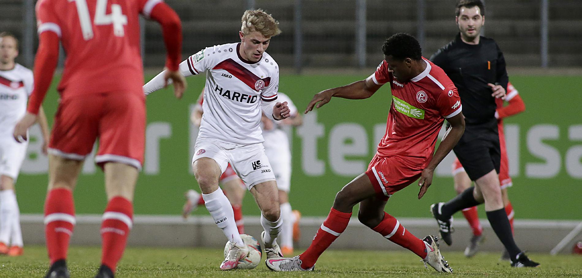 Gekämpft, aber unterlegen: die erste Saison-Niederlage für Rot-Weiss Essen. (Foto: Endberg)