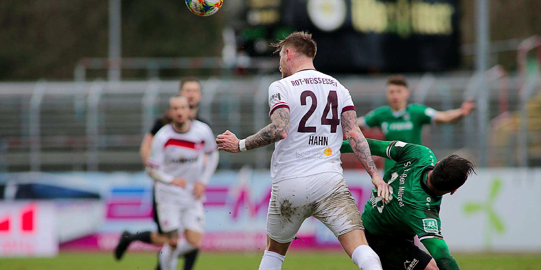 """Alexander Hahn: """"Nach dem Rückstand hat das Quäntchen Glück gefehlt."""" (Foto: Endberg)"""