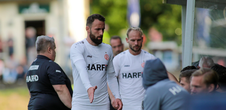 """""""Es passt alles. Die Mannschaft hat mich gut aufgenommen"""": Zlatko Janjic fühlt sich bei Rot-Weiss Essen wohl. (Foto: Endberg)"""