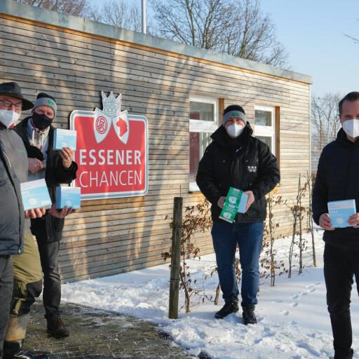 NLZ: FFP2-Masken für Jugendarbeit und Essener Chancen