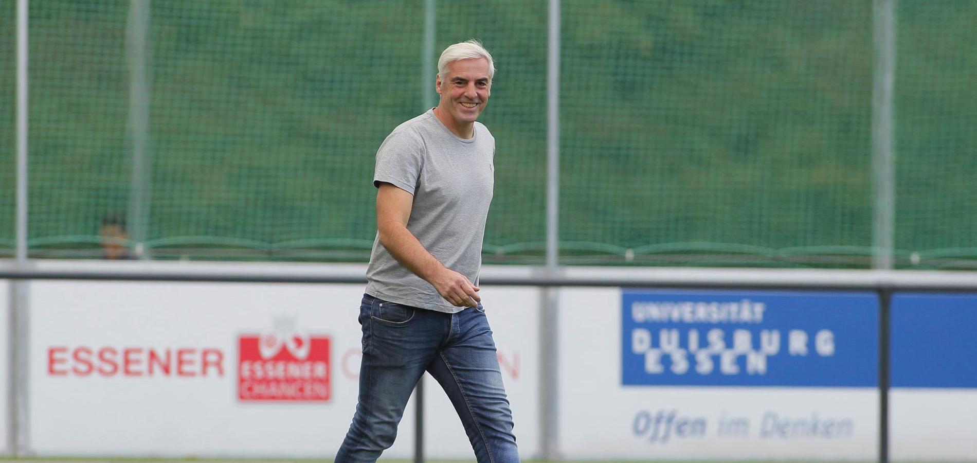 """Kurth: """"Wir gehen natürlich in die Auftaktpartie, um die ersten drei Punkte einzufahren."""" (Foto: Breilmannswiese)"""
