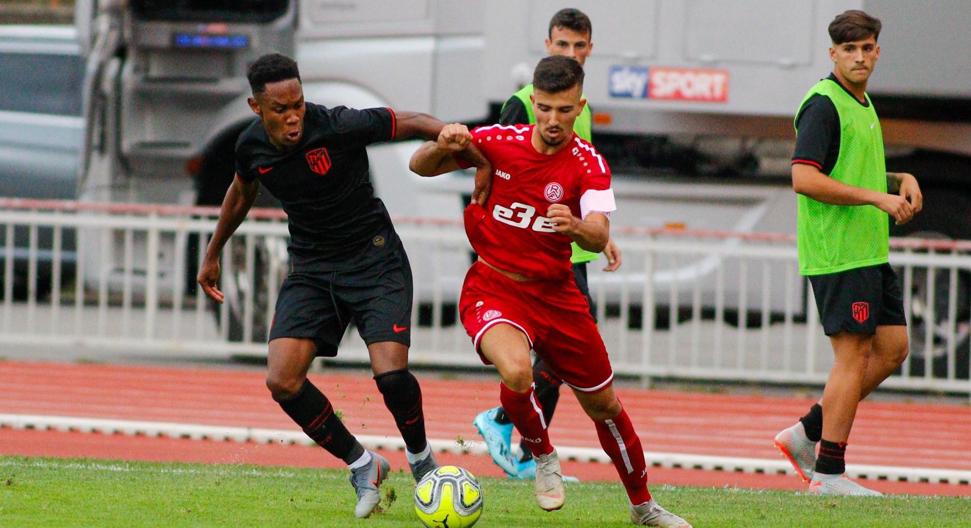 Ioannis Orkas ist für den anstehenden Lehrgang der U19-Nationalmannschaft nominiert. (Foto: Breilmannswiese)
