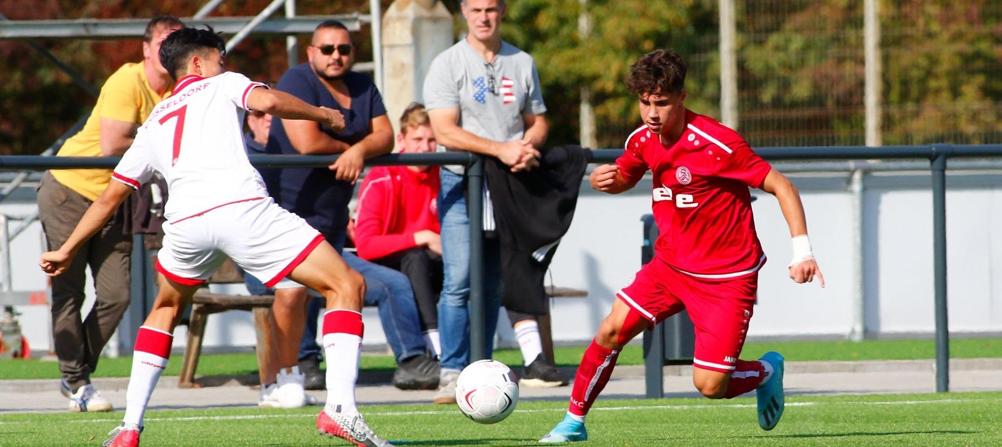 Die Rot-Weisse U17 trifft am Sonntag auf die U16 der SG Unterrath 12/24. (Foto: Breilmannswiese)