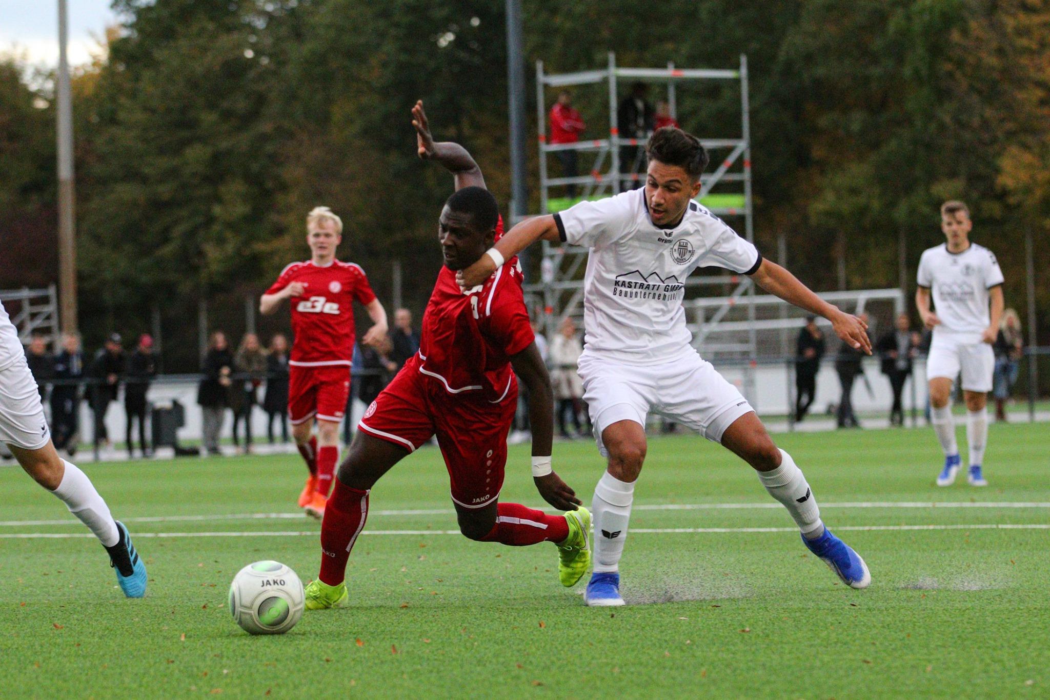 Eine bittere Niederlage musste die rot-weisse U19 im Stadtderby einstecken. (Foto: Breilmannswiese)