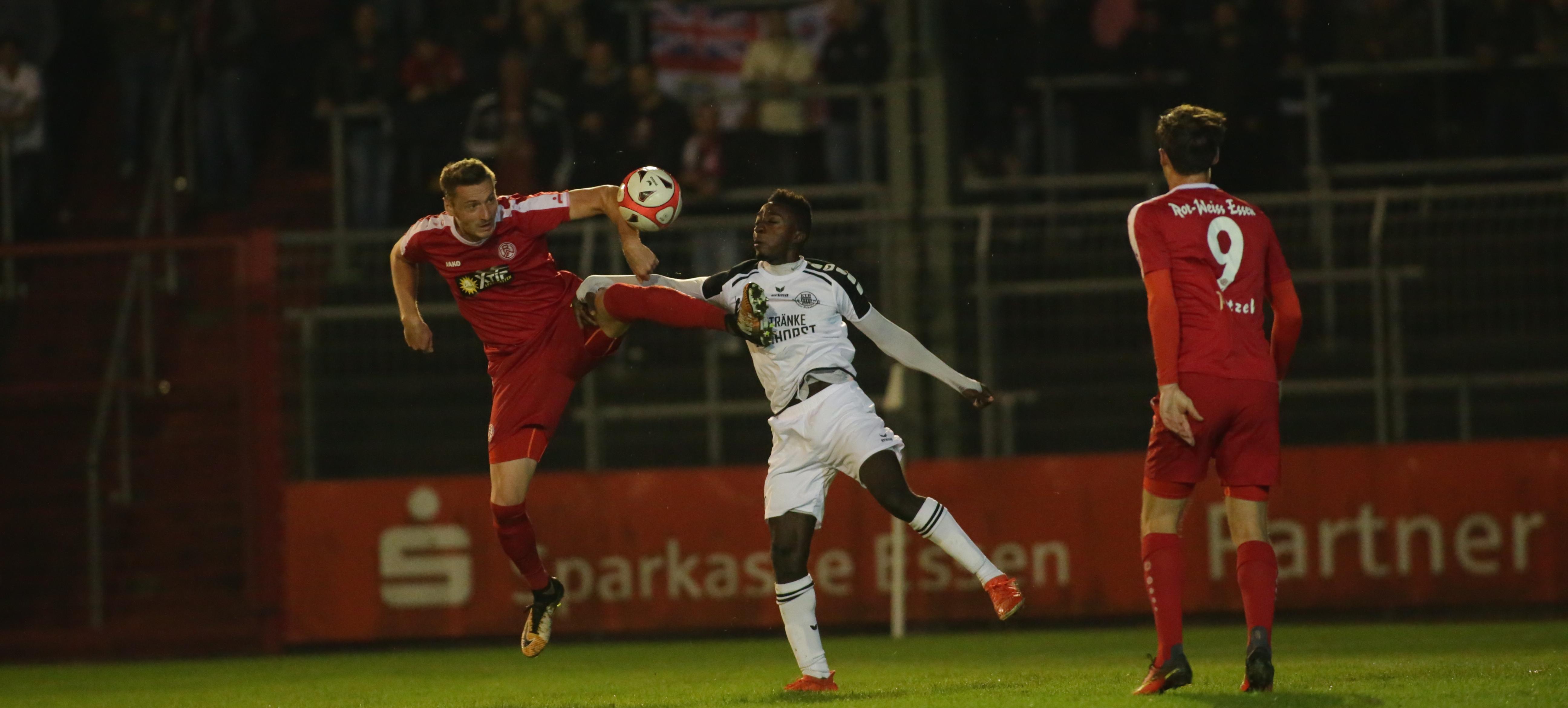 Mit einem 2:0 Auswärtssieg bei ETB konnte RWE in die nächste Pokalrunde einziehen. (Foto: Endberg)