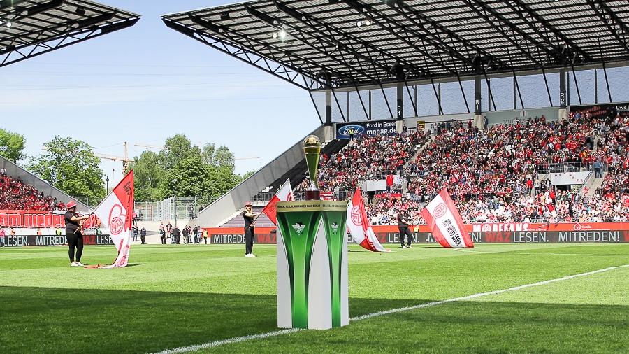 Der Halbfinalgegner im Niederrheinpokal steht fest.
