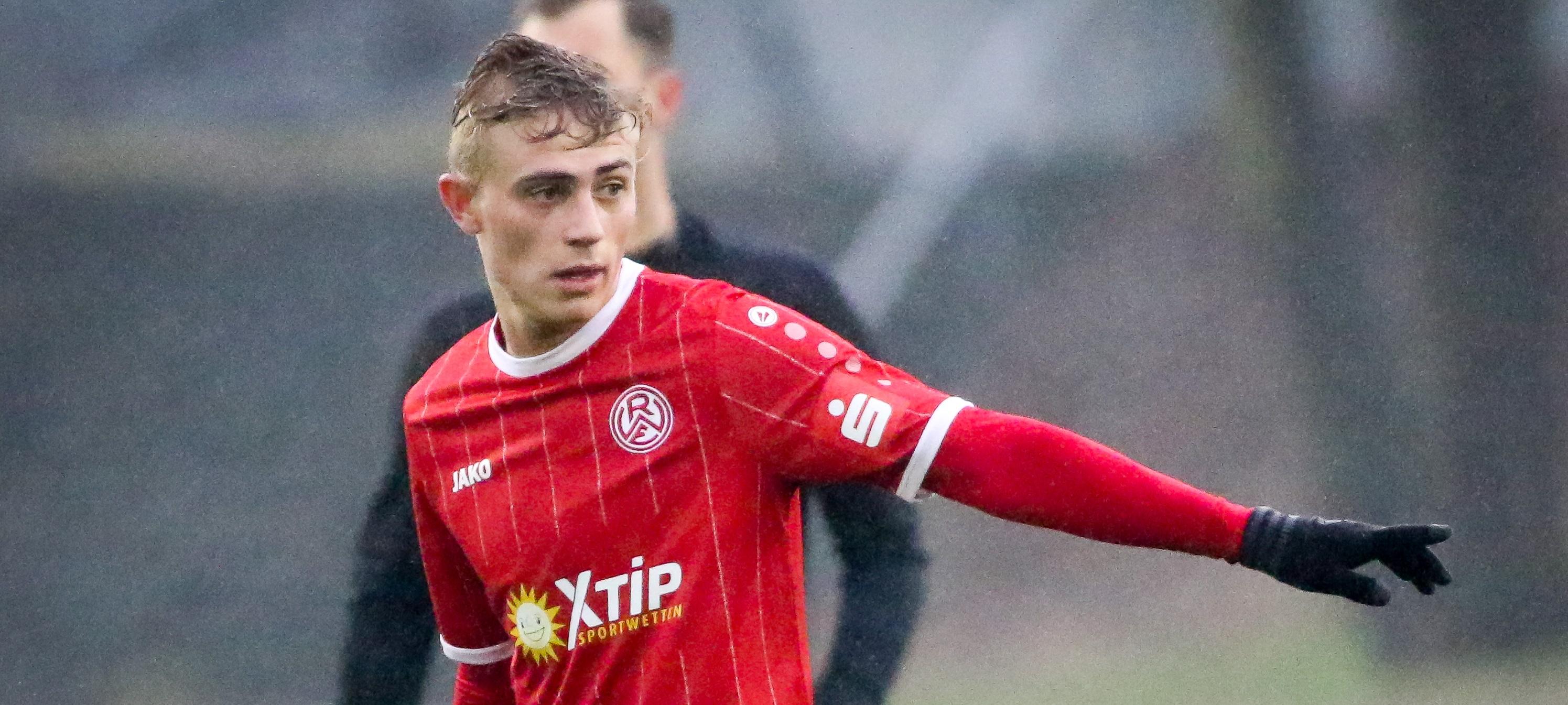 Wird in dieser Saison nicht mehr für RWE auflaufen: Cedric Harenbrock. (Foto: Endberg)