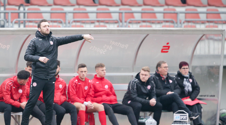 Damian Apfeld coacht seine rot-weisse U19 ab der nächsten Saison wieder in der A Junioren-Bundesliga.