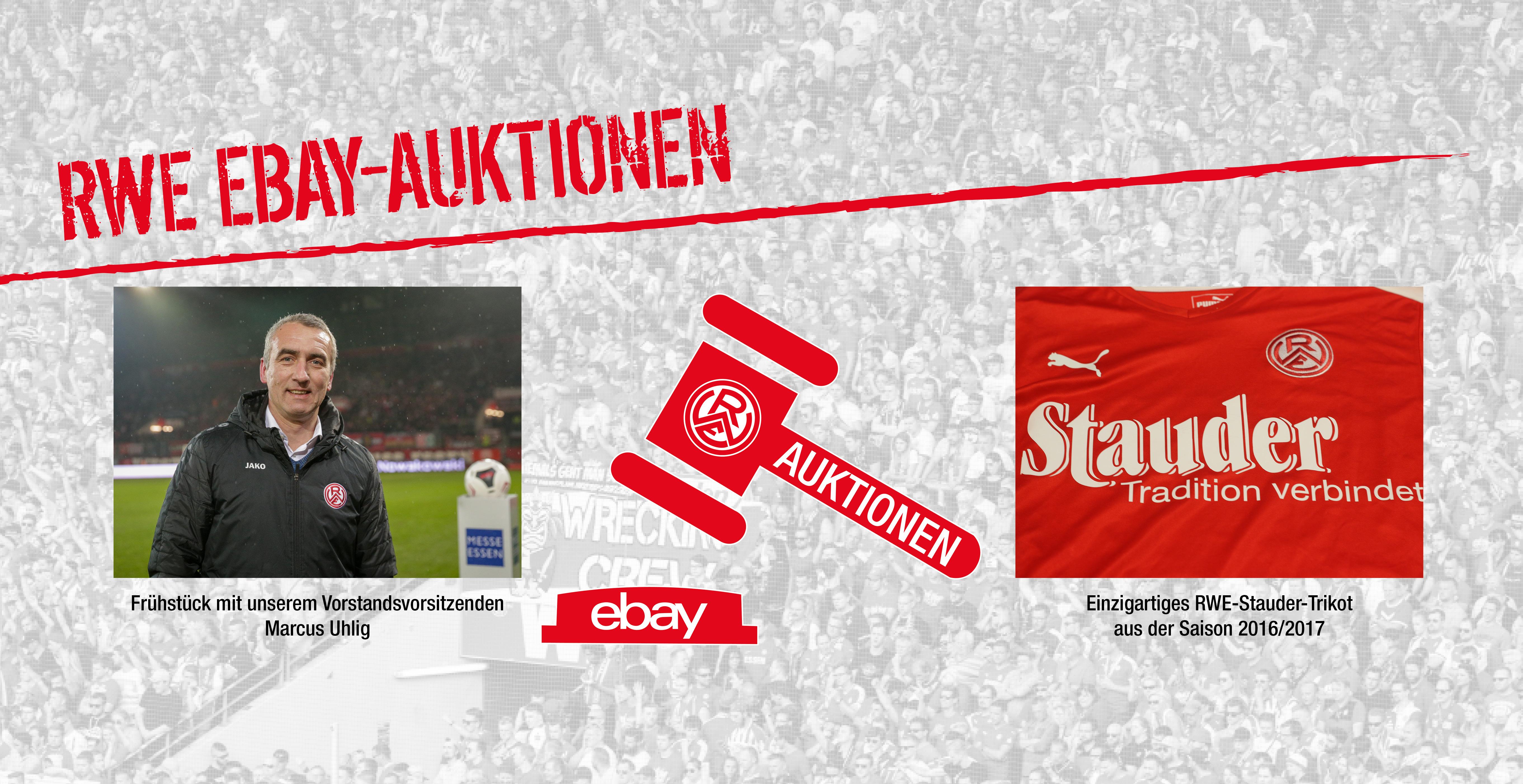Diesmal gibt es für RWE-Fans gleich zwei Auktionen.