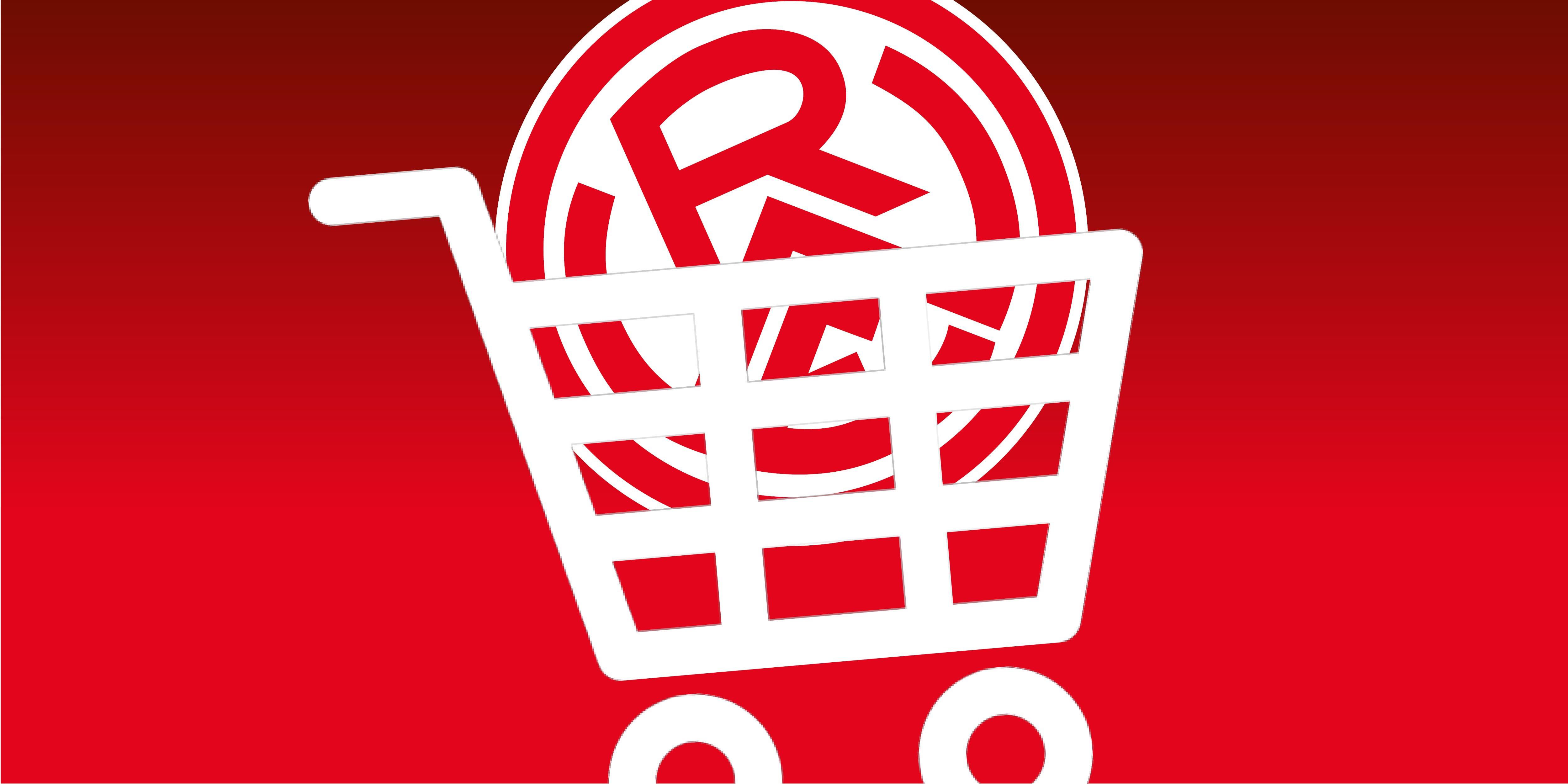 Im rot-weissen Online-Shop darf wieder fleißig gestöbert werden.