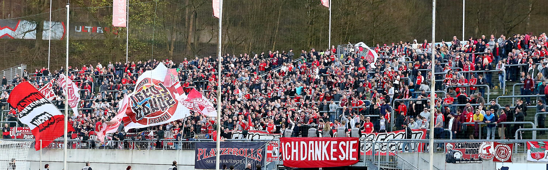 Am Sonntag trifft Rot-Weiss Essen im Stadion am Zoo auf den Wuppertaler SV. (Foto: Endberg)