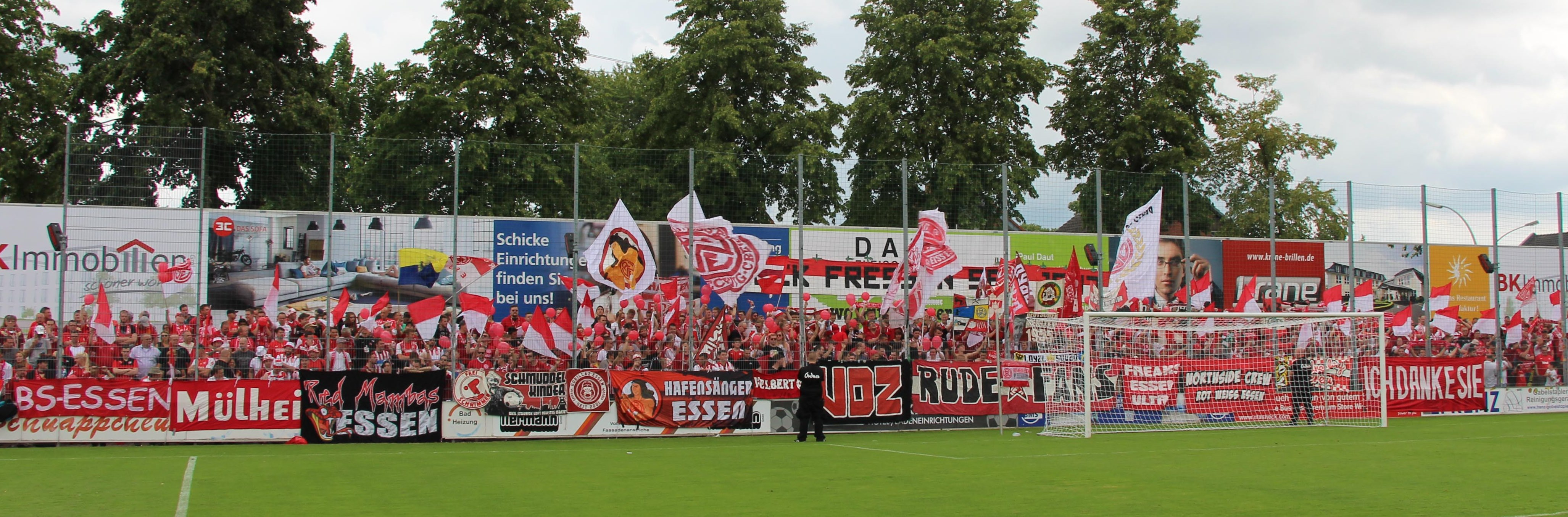Rot-Weiss Essen trifft am Samstag auf den SC Wiedenbrück.