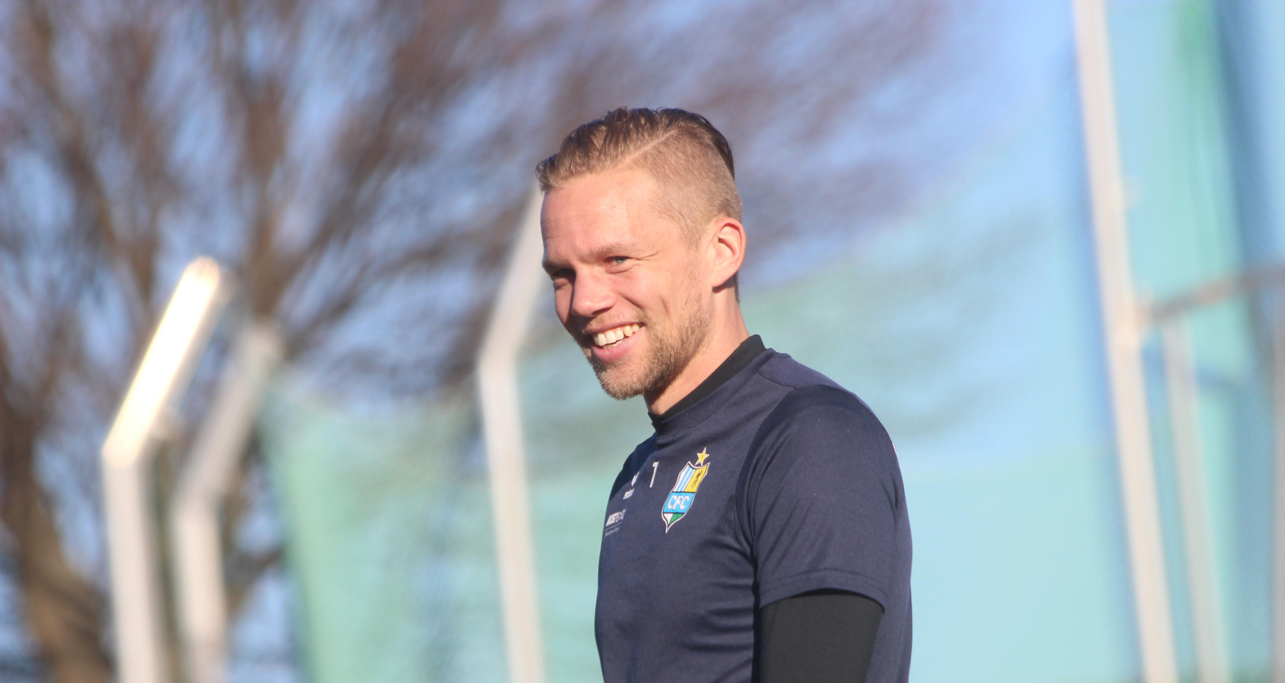 Dennis Grote trägt in der nächsten Saison das RWE-Trikot. (Foto: Chemnitzer FC)