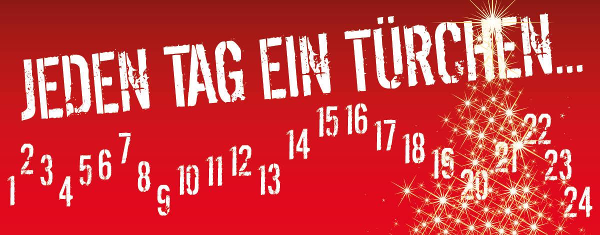 Morgen startet der rot-weisse Adventskalender.