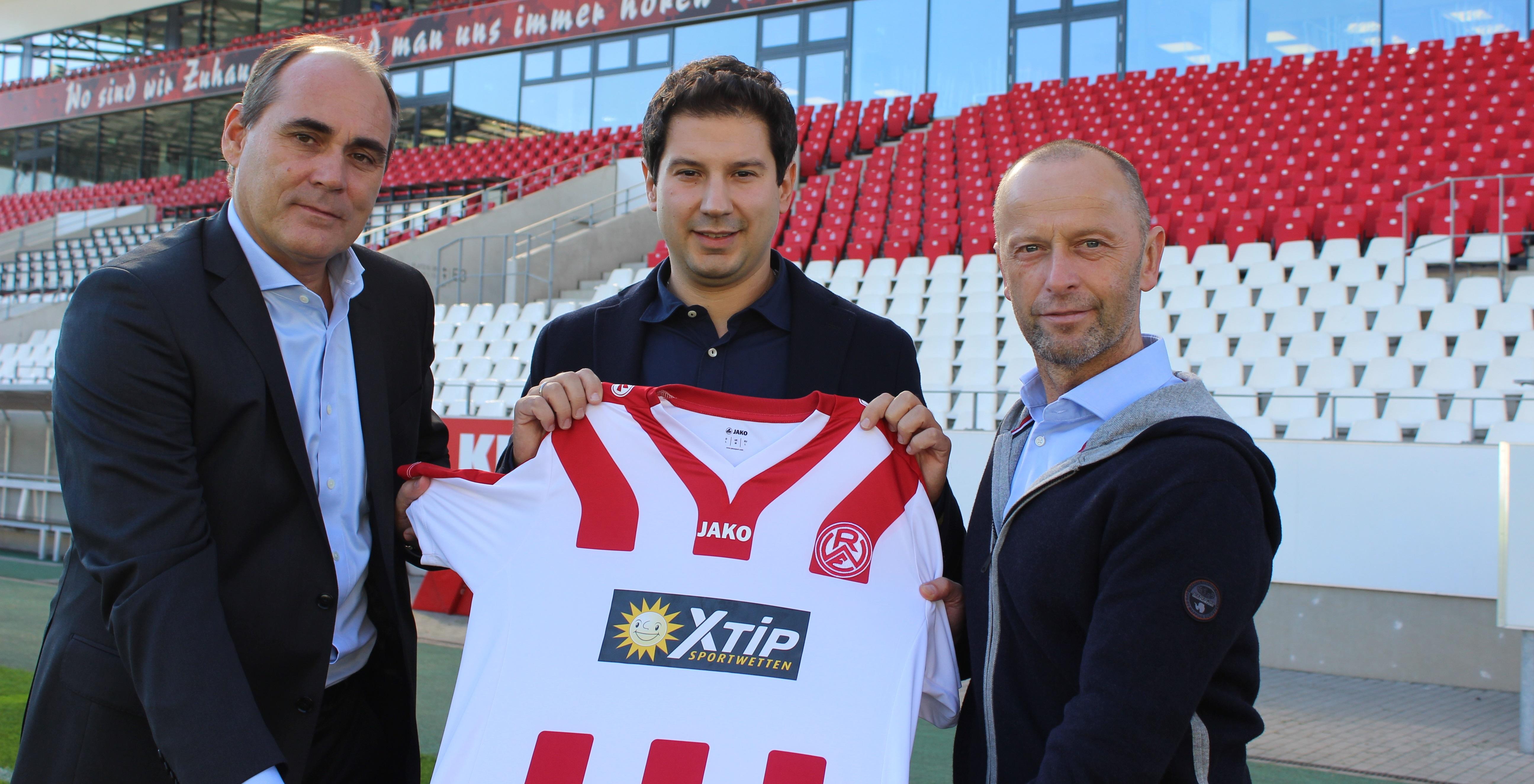 Neuer Chef-Trainer an der Hafenstraße: Argirios Giannikis (Foto: RWE)