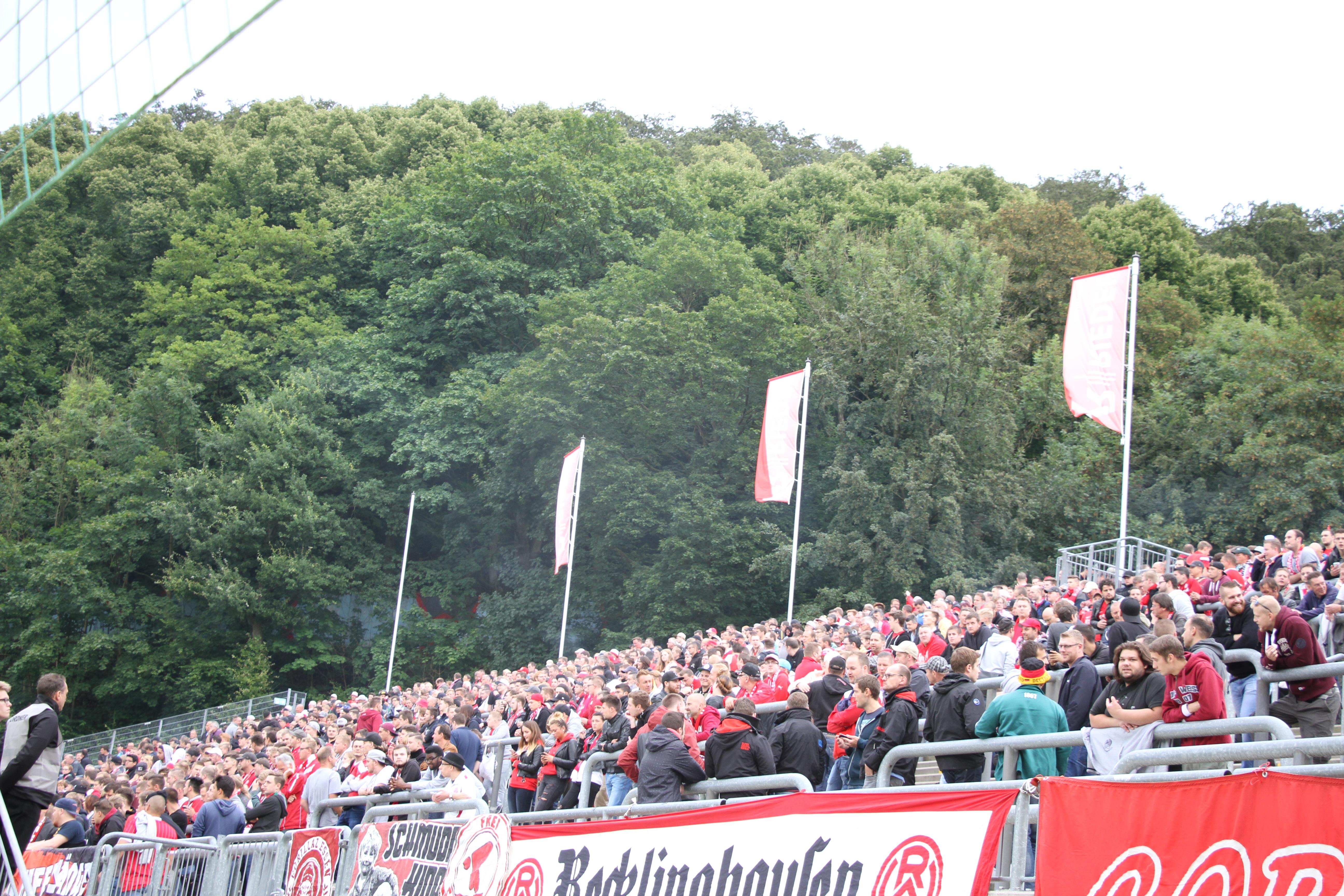 Am Sonntag treffen die Rot-Weissen auf den Wuppertaler SV.