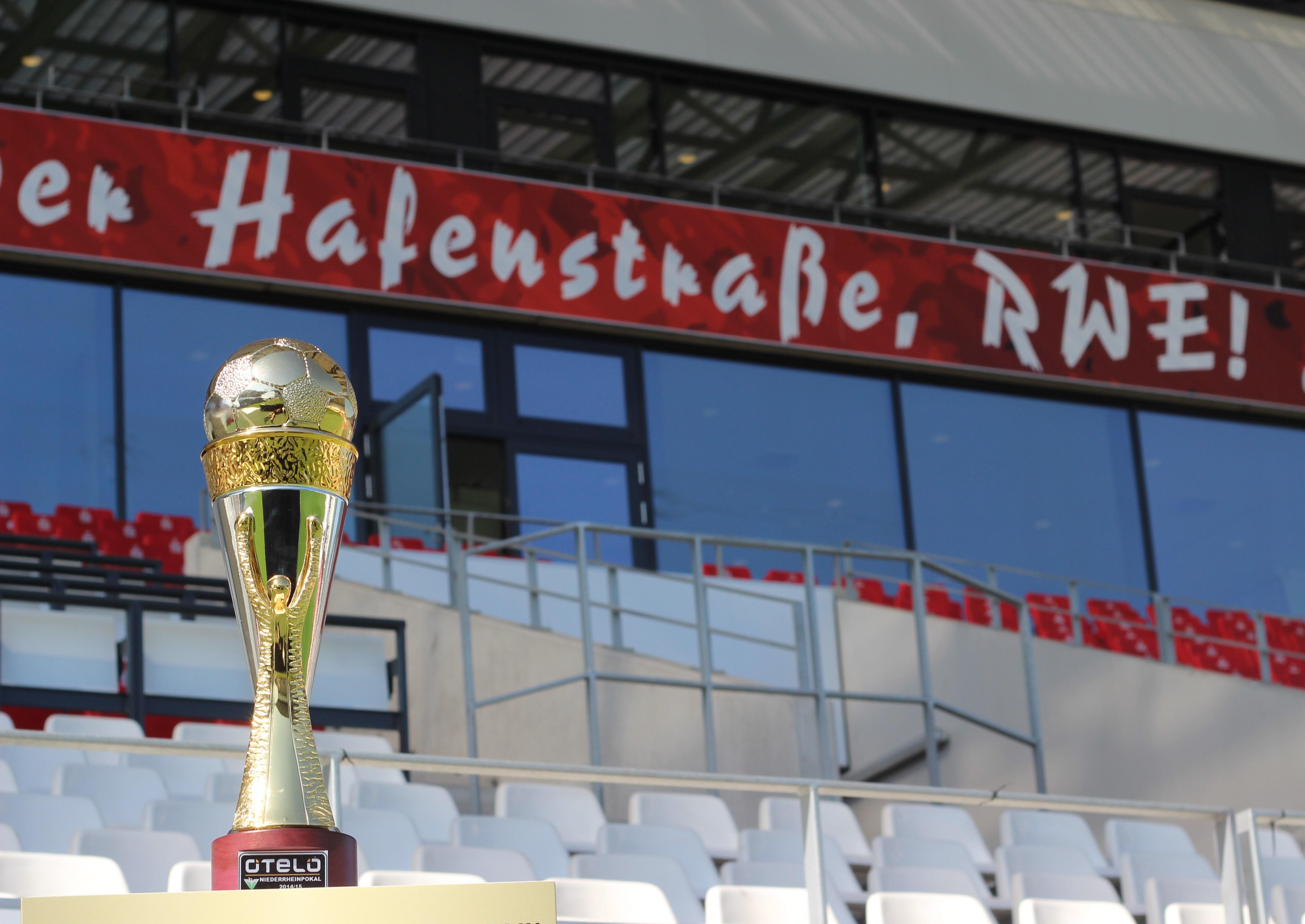 Morgen geht es für RWE ab 14.45 Uhr gegen den 1. FC Kleve um den Pott und die Teilnahme am DFB-Pokal.